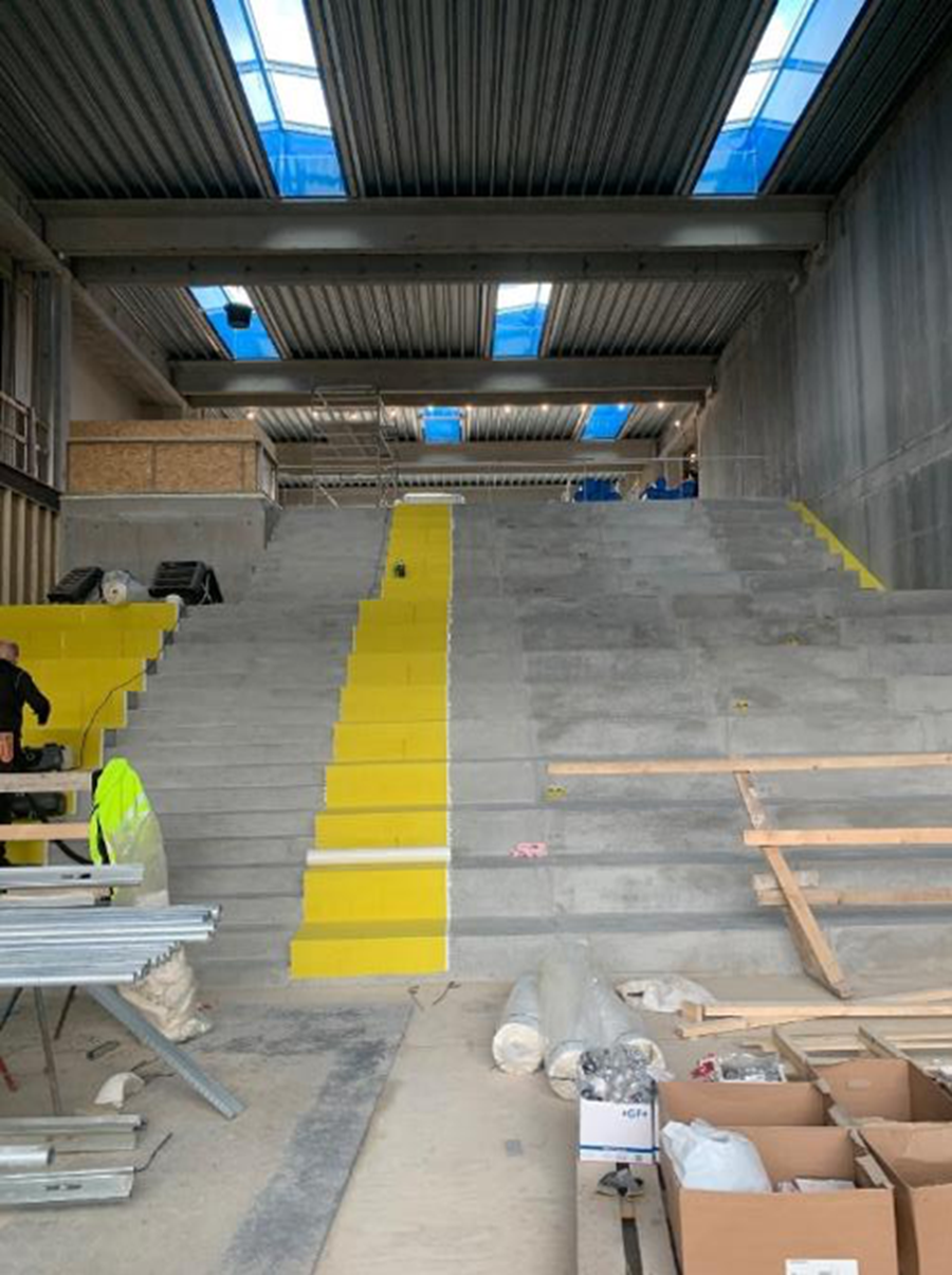 Protecting pre-cast concrete stairs: a case study from Denmark